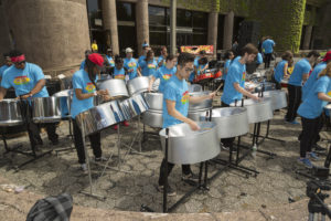 steel pan ensemble