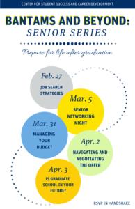 bantams and beyond spring 2020 flyer