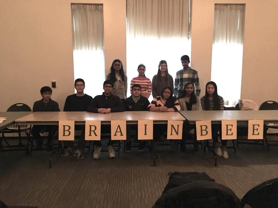 Brain Bee for local high school students