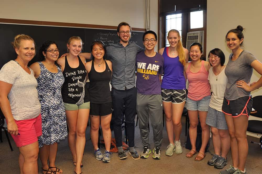 Summer teaching interns