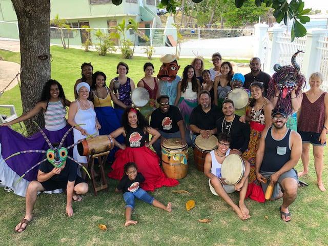 Trinity group in Puerto Rico