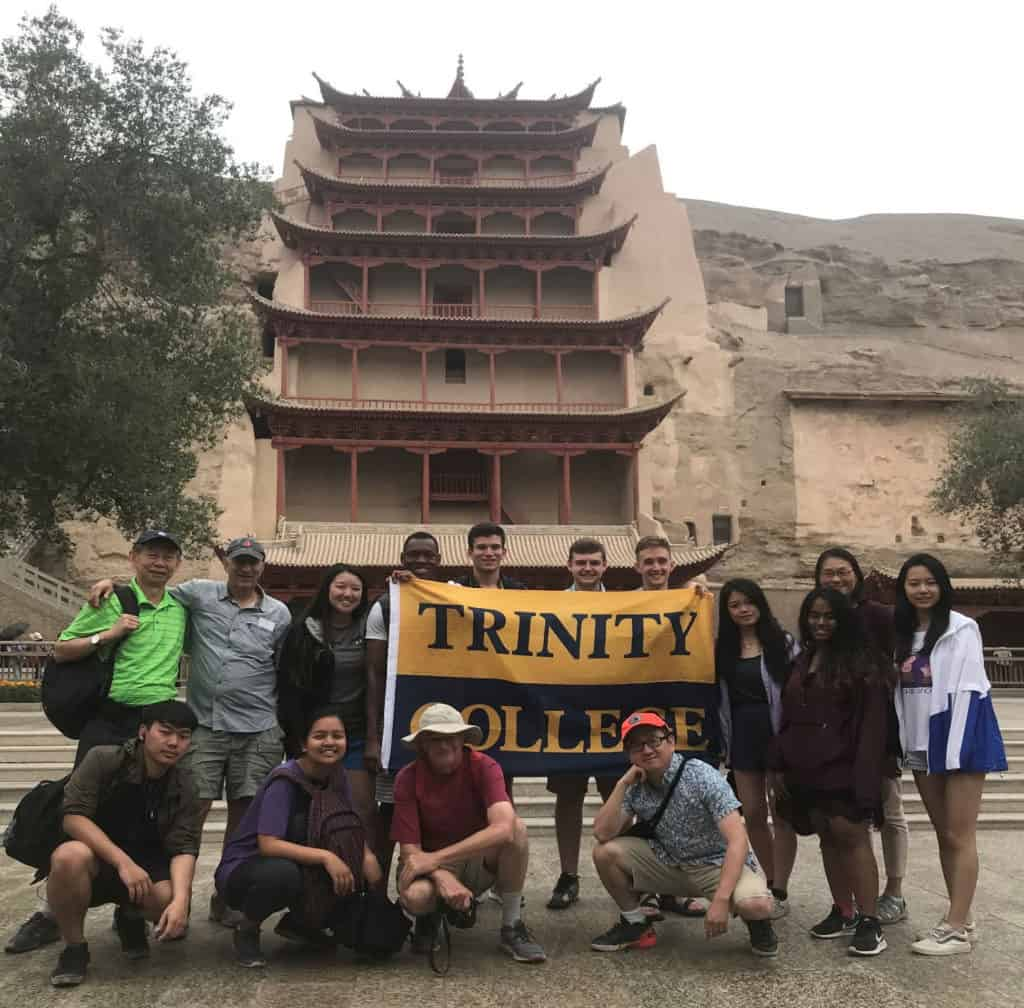 group at Dunhuang