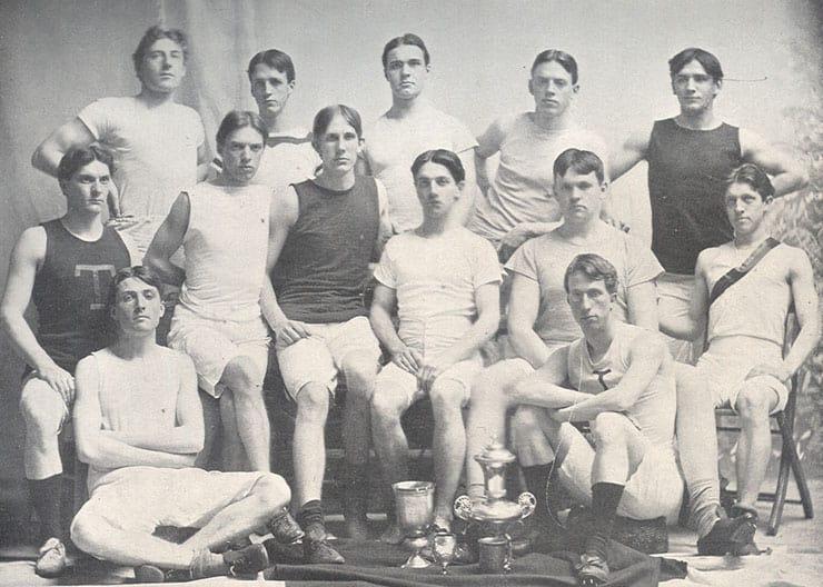 1898 track team