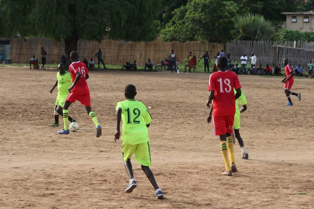 South Sudan soccer players