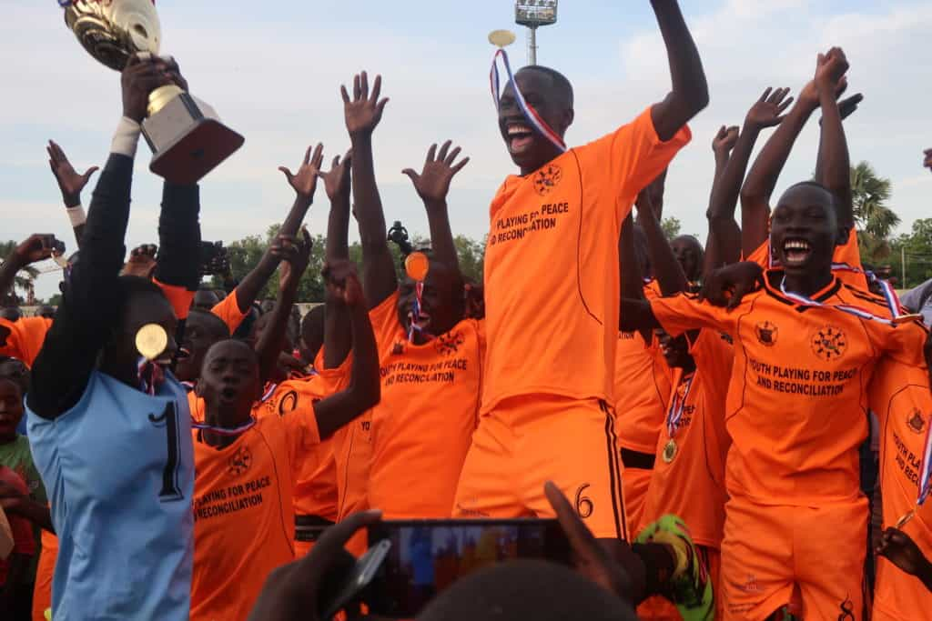 South Sudan soccer champions