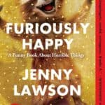 Cover of book, Furiously Happy