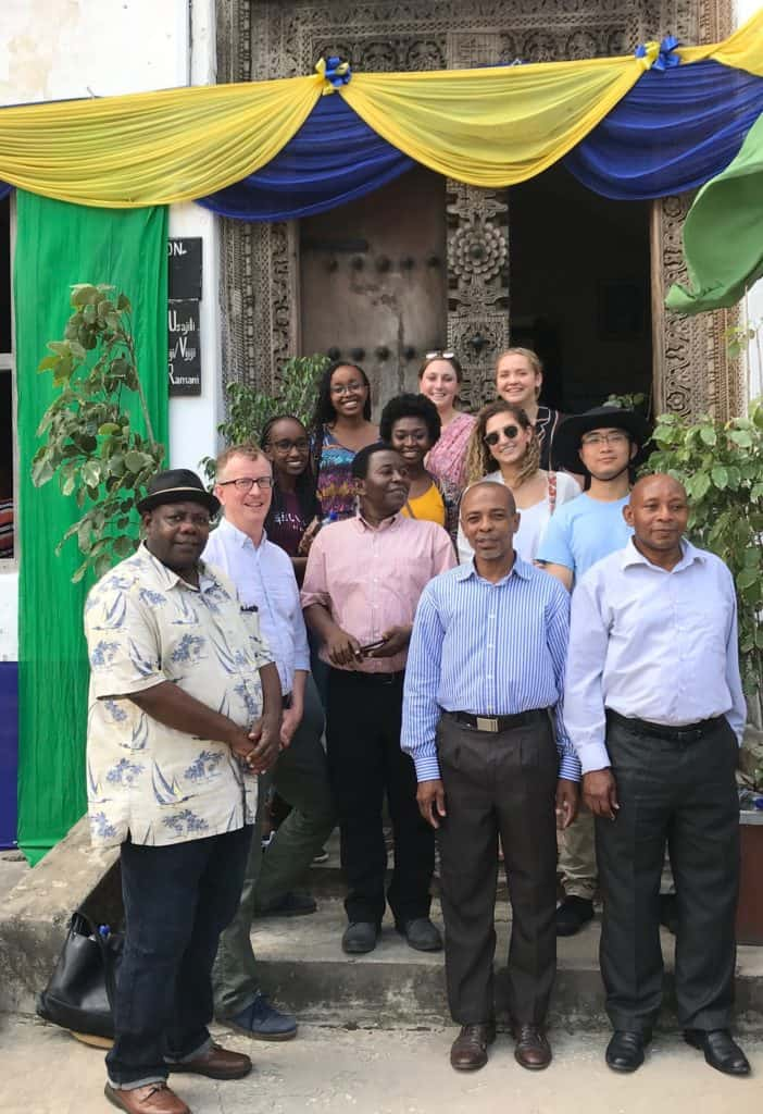Urban Swahili Coast students and faculty in Tanzania