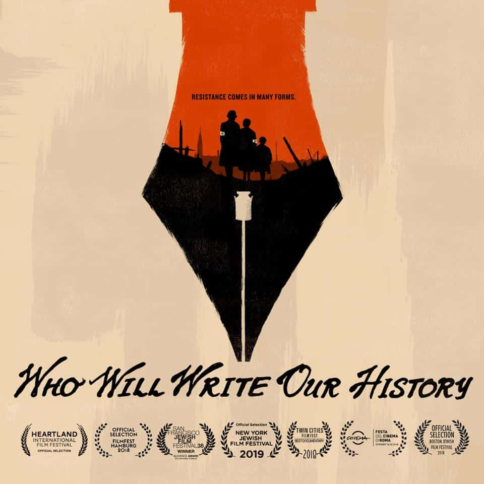Film poster for Who Will Write Our History