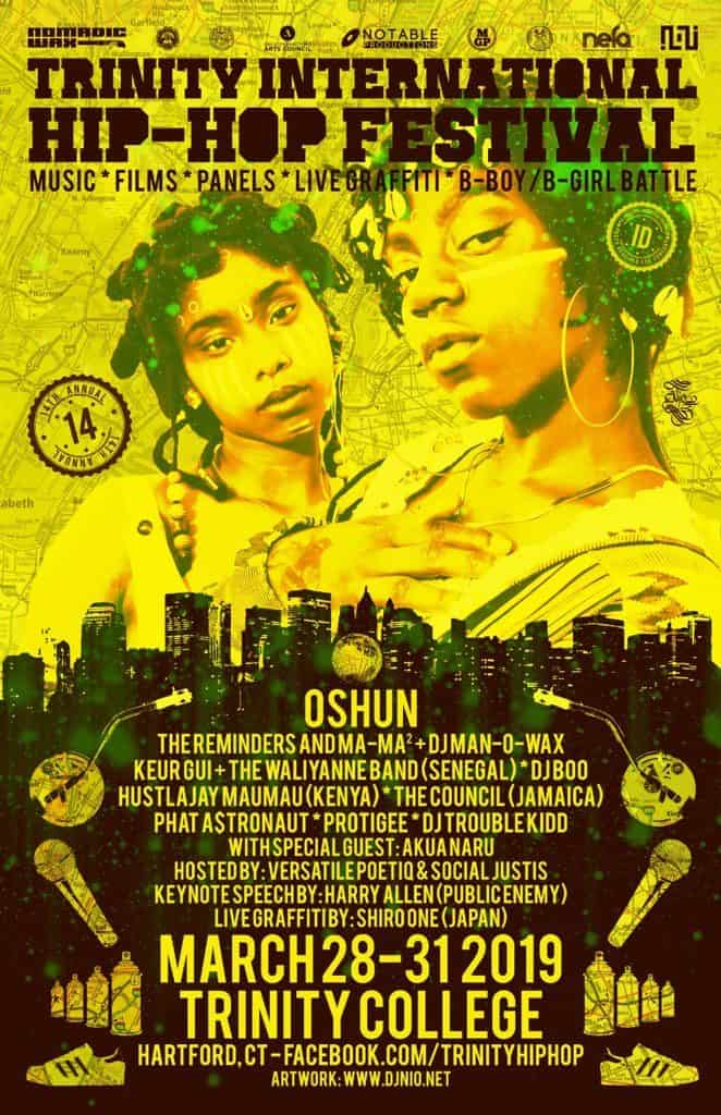 Hip Hop Festival poster