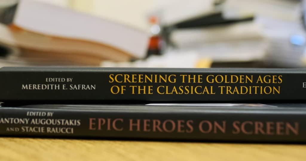 Display of Meredith Safran's books