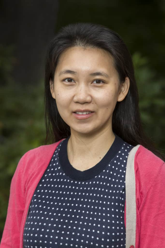 Assistant Professor of Mathematics Lina Ma