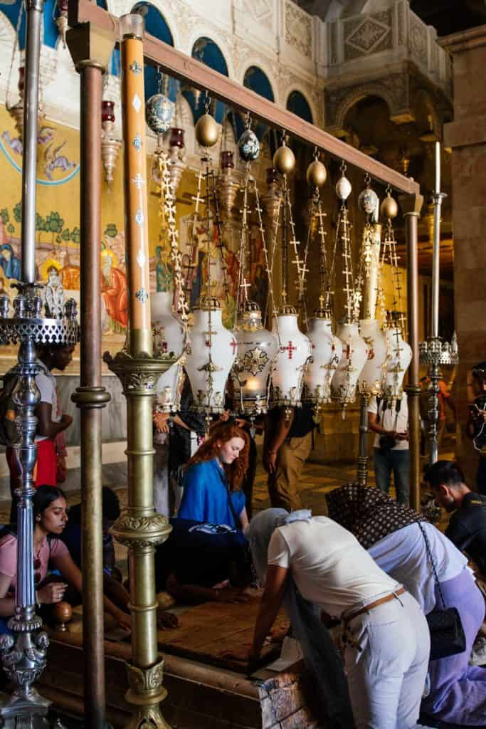 Inside the Church of the Holy Sepulchre, Jerusalem
