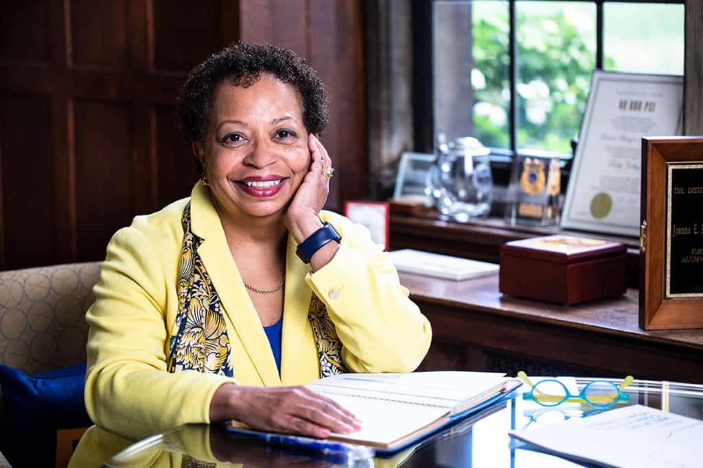President Joanne Berger-Sweeney