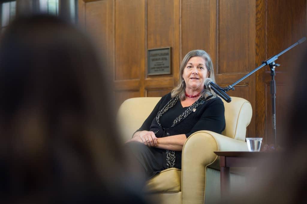 former Massachusetts governor Jane Swift '87