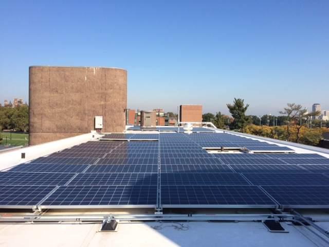Connecticut Forum solar panels