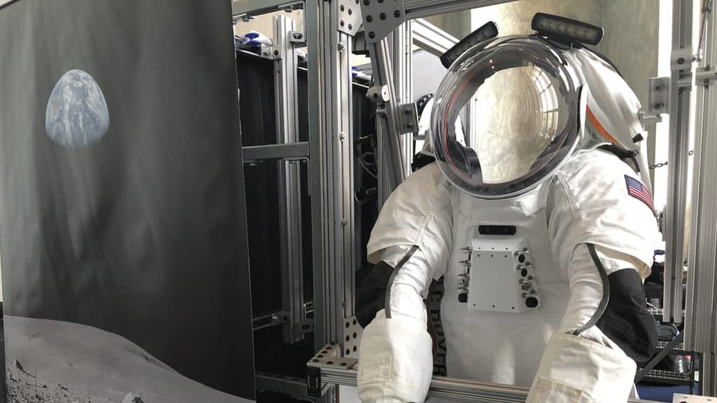 Engineering Interns Help Redesign Space Suit