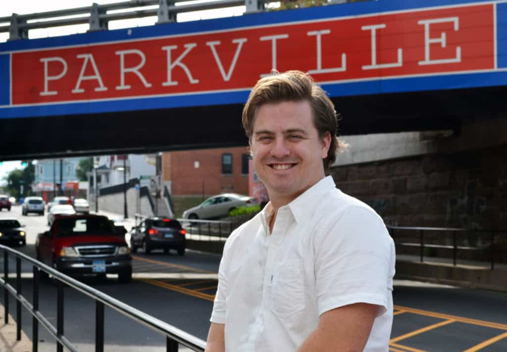 entrepreneur Jeffrey Devereux '12 40 Under 40