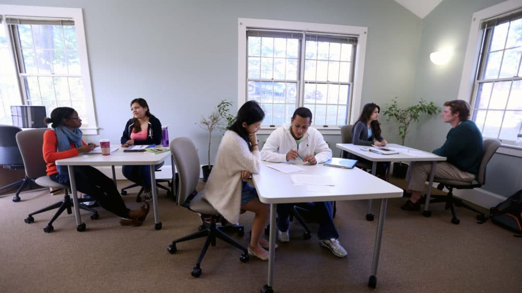 Writing Center mentors for international students