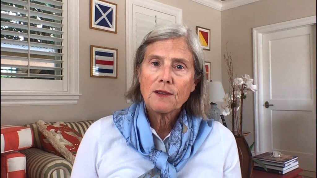 Cornelia Thornburgh '80, chair of the Trinity College Board of Trustees Class of 2020