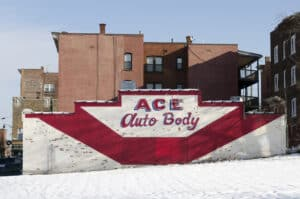 Ace's Auto Body photographed by Delano.