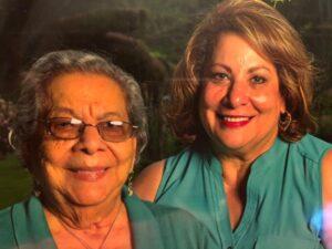 Gilda Cordero, right, pictured with her mother, Efigenia Quintero.