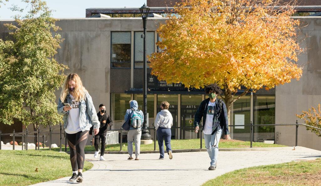Fall 2020 campus photo COVID