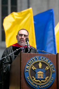 Hartford HealthCare President and CEO Jeffrey A. Flaks Commencement 2021