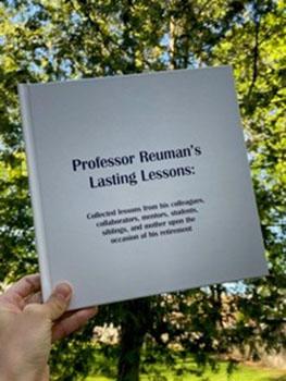 David A. Reuman retirement book