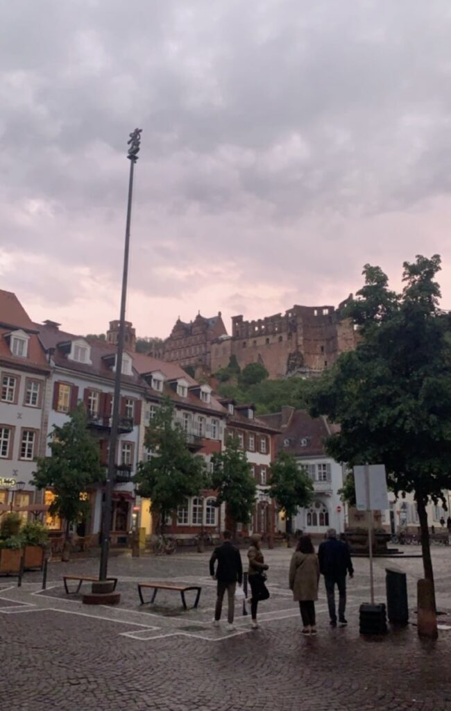 Heidelberg city square - Zacharewski