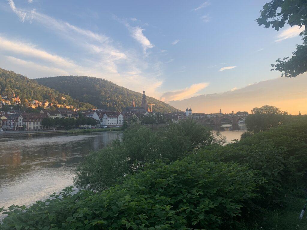Heidelberg sunset - Zacharewski