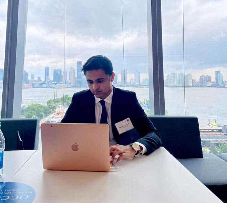 Rayan Ali '22 at Citigroup