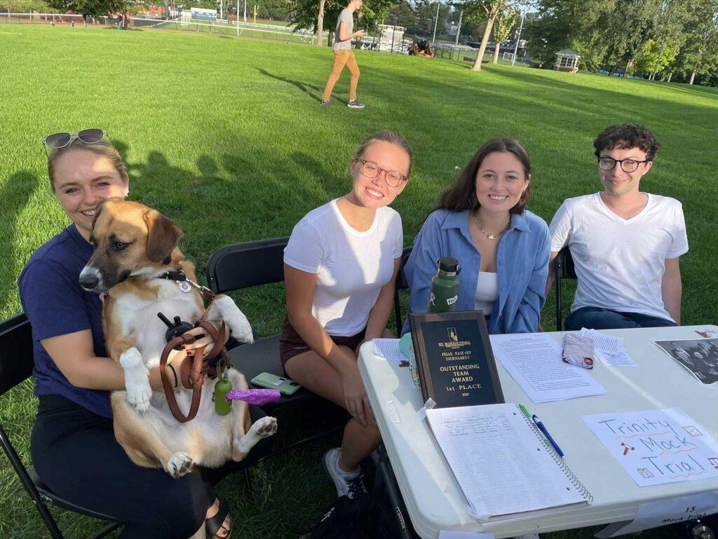 students at involvement fair